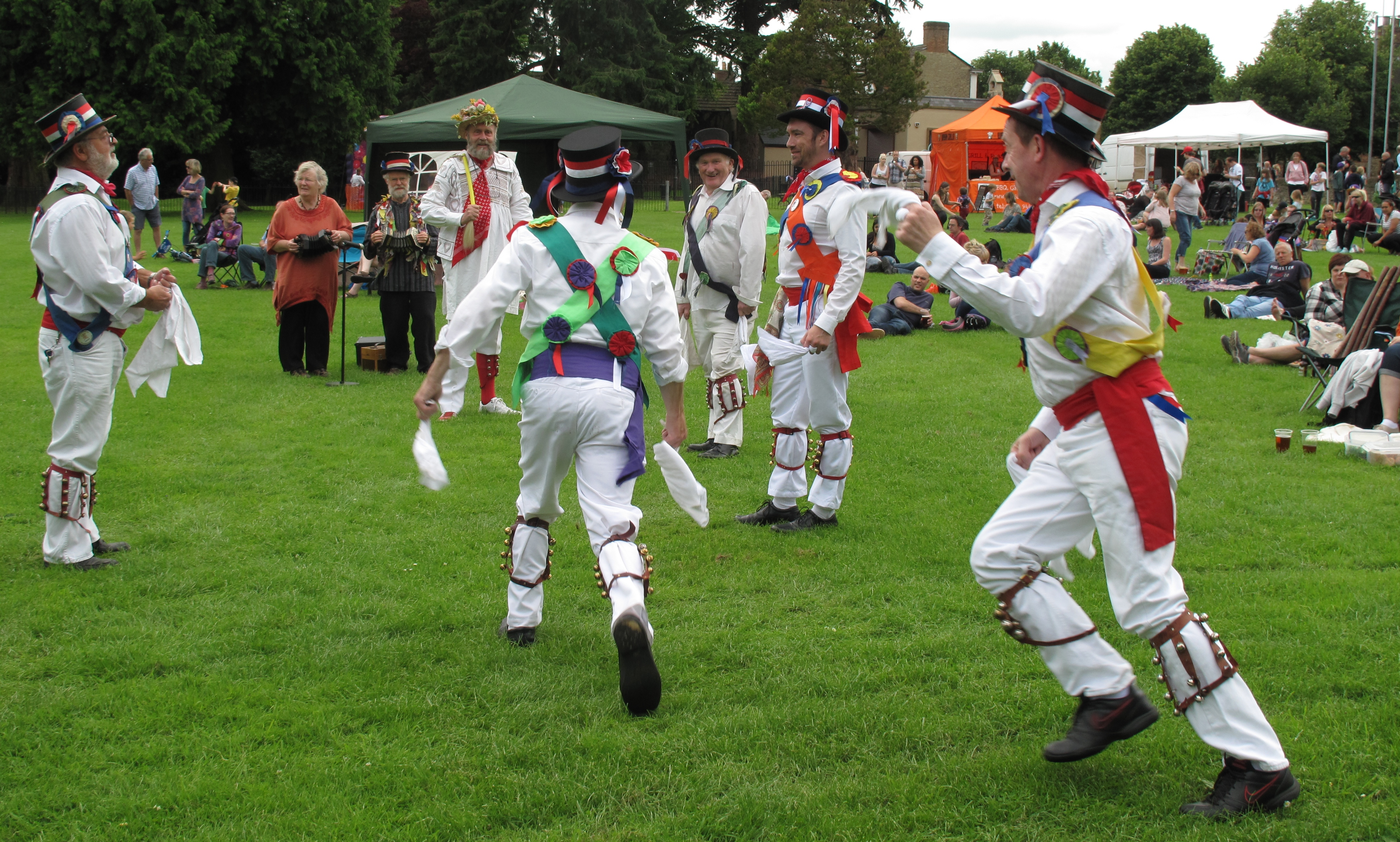 Brackley Folk-in-the-Park June 2016